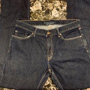 Men's Banana Republic jeans. Size 34x34. EUC!